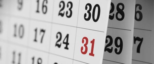 Calendario Fiscal 2017 ...primer semestre!